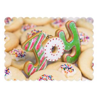 """Las galletas de torta dulce hechas en casa del invitación 5"""" x 7"""""""