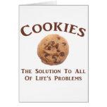 Las galletas solucionan problemas felicitaciones