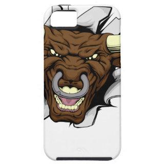 Las garras de Bull explotan iPhone 5 Carcasa