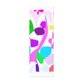 Las glicinias pueden llover la bebida de la sombra impresión en lona