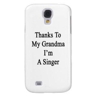 Las gracias a mi abuela soy cantante