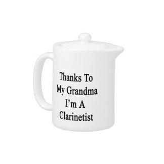Las gracias a mi abuela soy Clarinetist