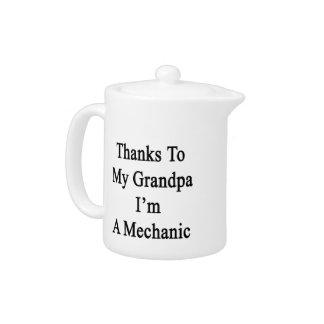 Las gracias a mi abuelo soy mecánico