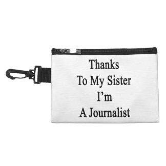 Las gracias a mi hermana soy periodista