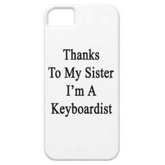 Las gracias a mi hermana soy teclista