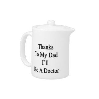 Las gracias a mi papá seré doctor