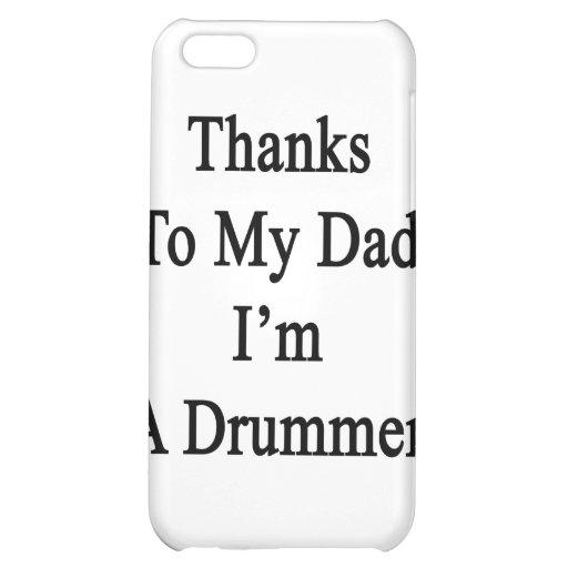 Las gracias a mi papá soy batería