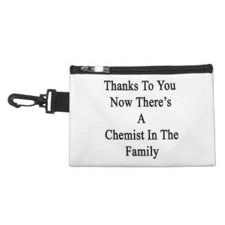 Las gracias a usted ahora allí son químico en la