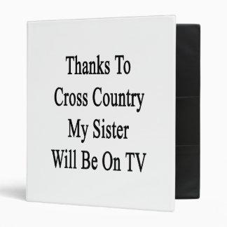 Las gracias al campo a través mi hermana estarán e