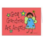 Las grandes abuelas son los regalos de los ángeles felicitación