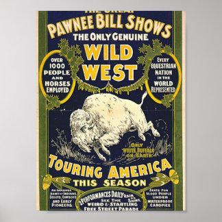 Las grandes demostraciones de Bill del Pawnee. El  Poster