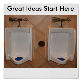 Las grandes ideas comienzan aquí póster