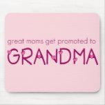 Las grandes mamáes consiguen promovidas a la abuel tapete de ratones