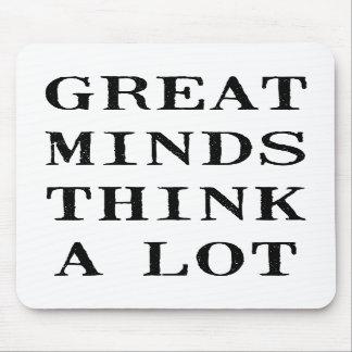 Las grandes mentes piensan alfombrillas de raton