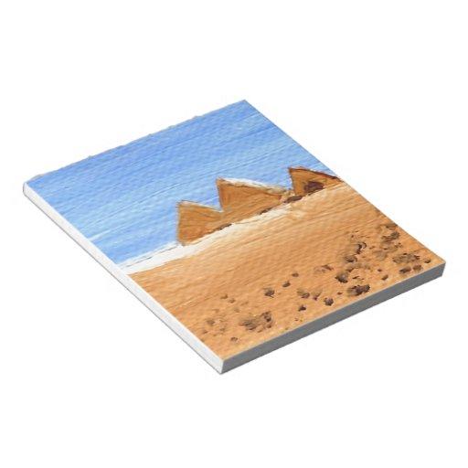 Las grandes pirámides bloc de papel
