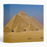 """Las grandes pirámides de Giza, Egipto Carpeta 1 1/2"""""""