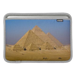 Las grandes pirámides de Giza, Egipto Fundas Para Macbook Air