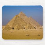 Las grandes pirámides de Giza, Egipto Alfombrilla De Ratón