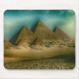 Las grandes pirámides de Giza Alfombrillas De Ratones