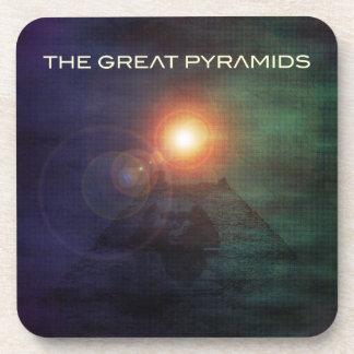 Las grandes pirámides posavasos