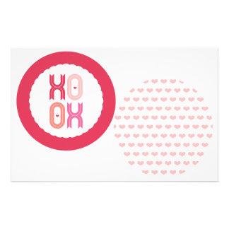 Las guirnaldas del fiesta de la tarjeta del día de tarjeta publicitaria