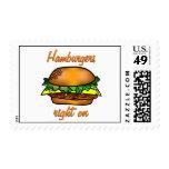 Las hamburguesas enderezan encendido envio