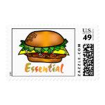 Las hamburguesas son esenciales sello