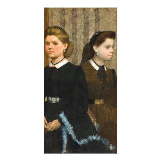 Las hermanas de Bellelli de Edgar Degas Tarjeta Fotografica