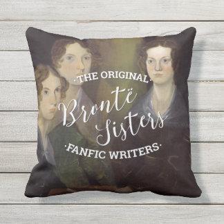 Las hermanas de Bronte - los escritores originales Cojín