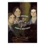 Las hermanas de Bronte - los escritores originales Tarjeta De Felicitación