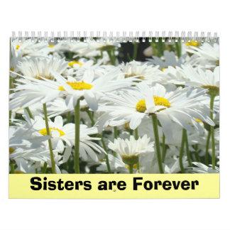 Las hermanas de encargo de los calendarios son par