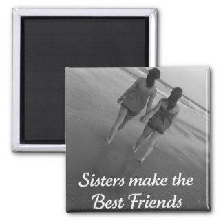 Las hermanas hacen el Bestfriend Iman De Frigorífico