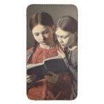 Las hermanas Signe y Enriqueta del artista
