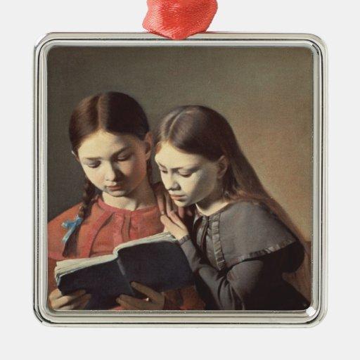 Las hermanas Signe y Enriqueta del artista Ornaments Para Arbol De Navidad