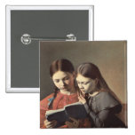 Las hermanas Signe y Enriqueta del artista Pin