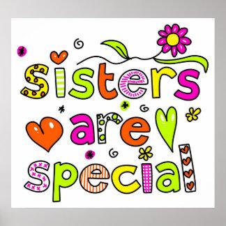 Las hermanas son especiales póster