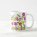 Las hermanas son especiales tazas de café