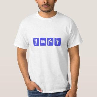 Las herraduras del valor Camiseta-Comen la bebida  Playera