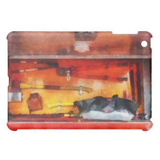 Las herramientas de los bomberos del comercio