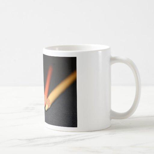Las herramientas del artista taza de café