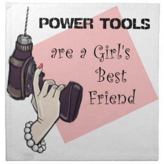 Las herramientas eléctricas son el mejor amigo de  servilleta de papel