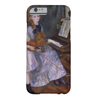 Las hijas de Catulle Mendes en el piano, 1888 Funda Para iPhone 6 Barely There