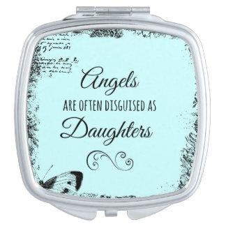 Las hijas son cita de los ángeles espejo de viaje