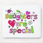 Las hijas son especiales tapete de ratón