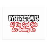 Las histerectomias… todos los chicas frescos están tarjeta postal