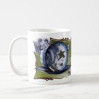 Las hojas de té asteroides predicen buena fortuna tazas de café