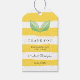 Las hojas del limón amarillas y ponen verde el | etiquetas para regalos