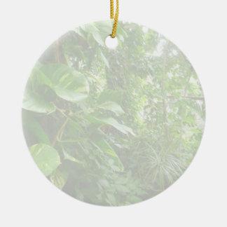 Las hojas gigantes eliminan la opinión de la selva adornos de navidad