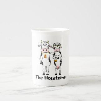 Las Holstein Taza De Porcelana