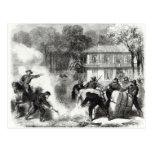Las hornillas confederadas del algodón acercan a M Tarjeta Postal